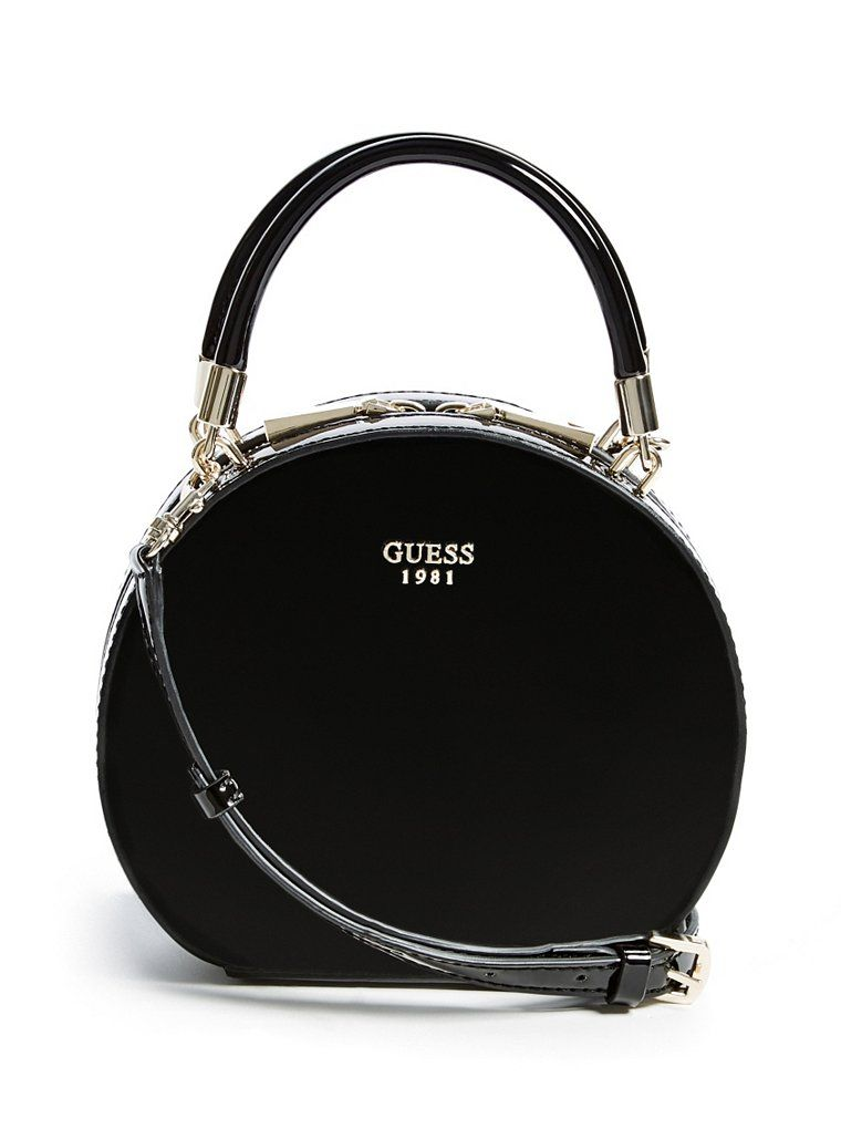 Azalee Round Patent Cross-Body   shop.GUESS.com   GUESS   The Latest ... d843919b3b7