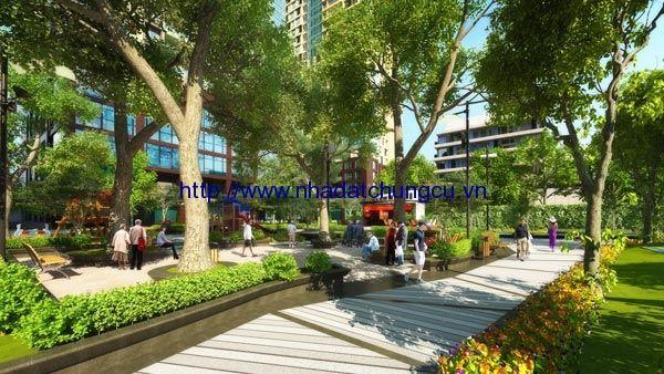 Thiết kế vườn cảnh quan chung cư GoldSeason