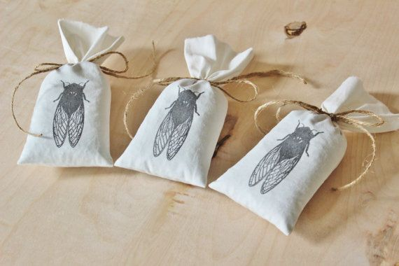Cicada Lavender Sachet Bags Natural Scent Drawer Freshener Scented Drawer Sachets Nature Home Decor Lavender Sachets Bag Patterns To Sew Linens And Lace