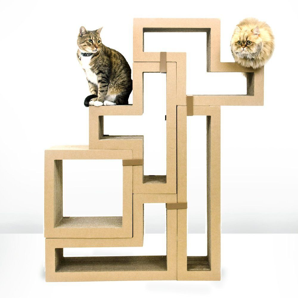 Best cat tree without carpet ideas cat tree cat furniture and beautiful cats - Contemporary cat furniture ideas ...