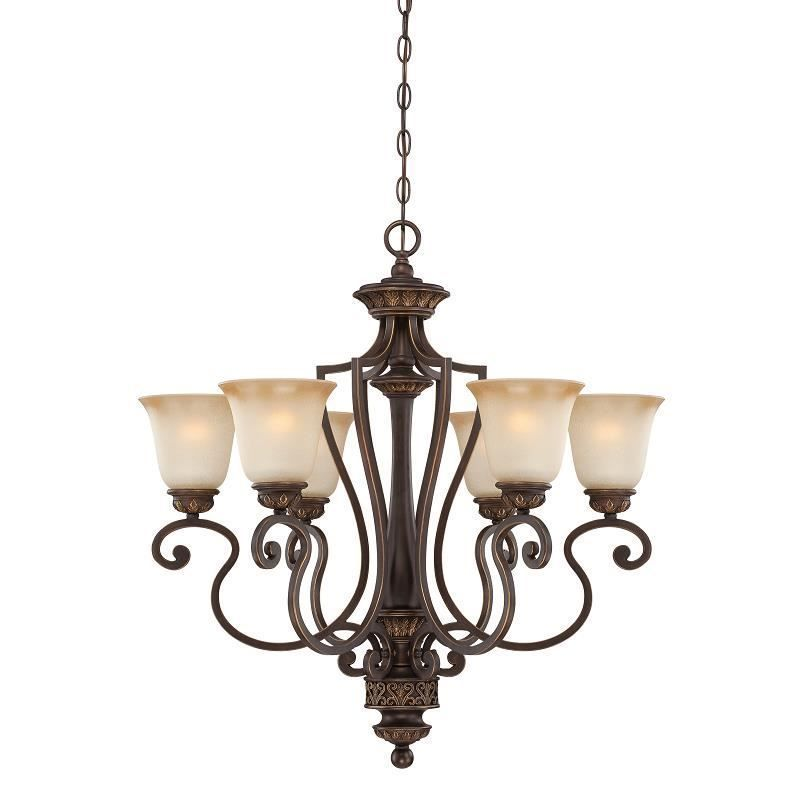 Jeremiah Lighting 28226 Abzg Josephine 6 Light Chandelier In