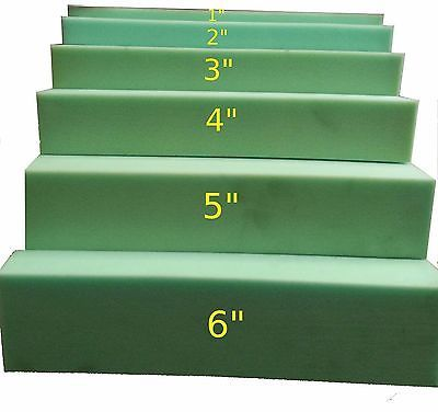Styrofoam Forms 41200: 3 X24 X80 Medium Density Foam Rubber Replacement Cushion -> BUY IT NOW ONLY: $42 on eBay!