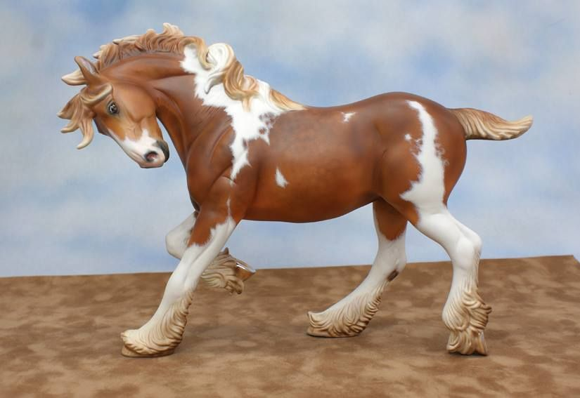 Custom Breyer Party Time porcelain.