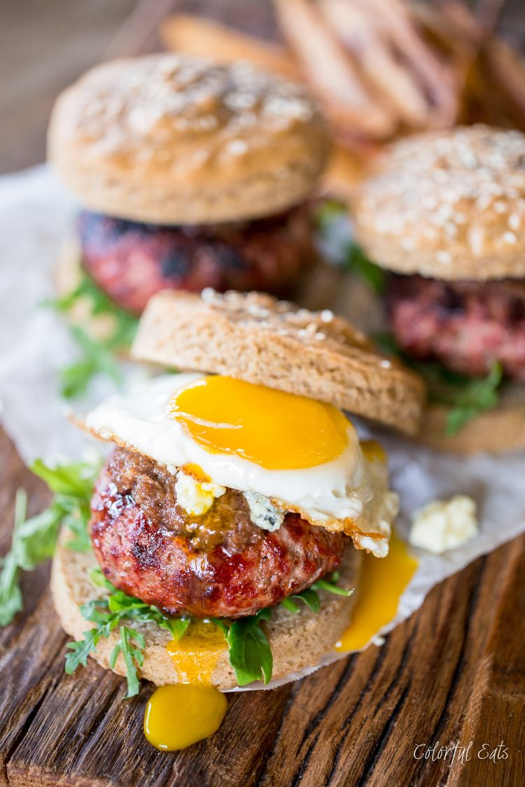 Paleo Bacon Jam Burgers from All American Paleo Table