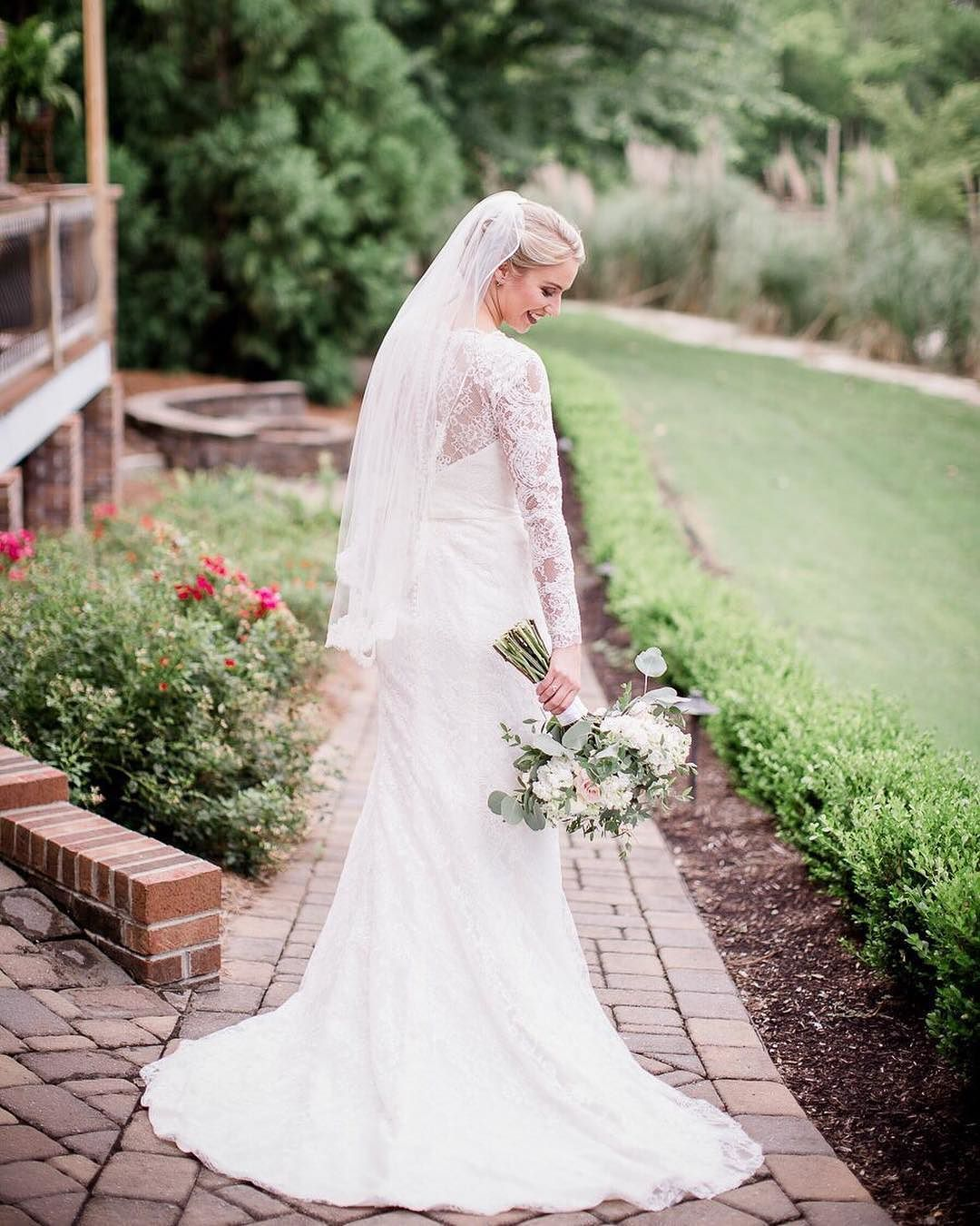 Long and lacy from galinasignature your dream dress is waiting