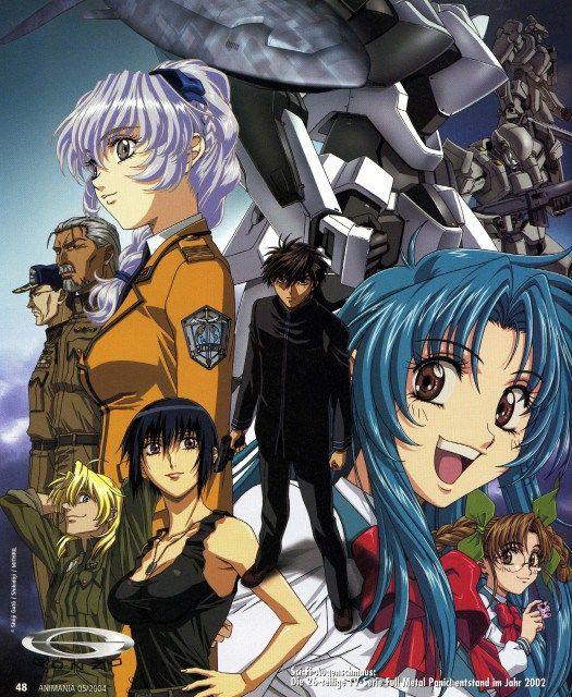 Full Metal Panic Animación Japonesa Anime Anime Para Ver