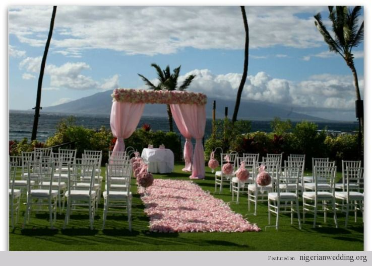 Outside wedding ceremony decorations nigerian wedding outside wedding ceremony decorations nigerian wedding breathtaking outdoor wedding ceremony decor ideas junglespirit Gallery