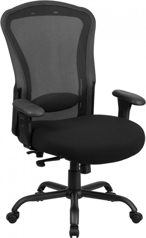 husky office big tall 400 lb high back mesh office chair with