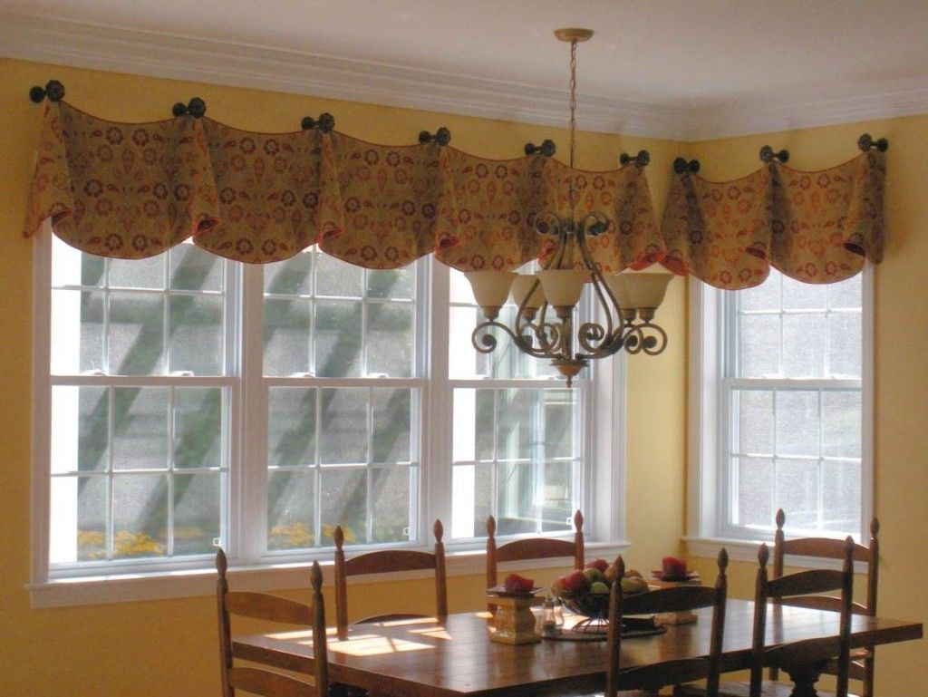 Captivating Window Valance Ideas | Burlap Valance Ideas | Favoritizm.com Part 30
