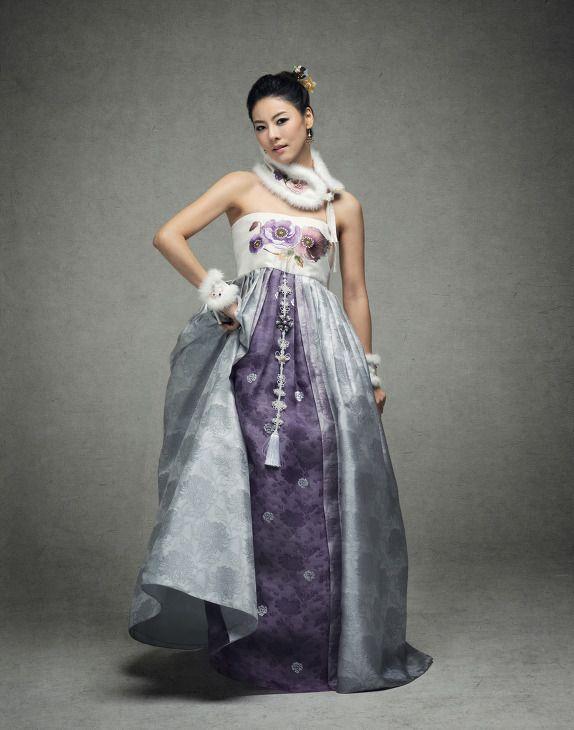 Modern Hanbok Dress : Korean Traditional Dresses   Korean