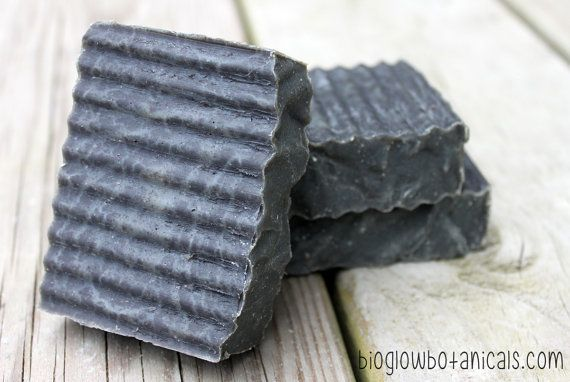 Activated Charcoal Aloe Facial & Body Anti Acne Soap PALM FREE Jojoba Red Moroccan / French Green Clay Spirulina Essential Oil Blend Vegan