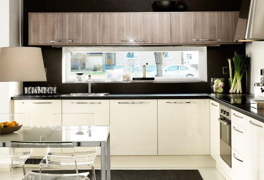 Optimale Nutzung; Küche mit FAKTUM Eckunterschrank, Wand- + - ikea küchen unterschränke