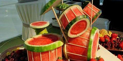 Watermelon drumkit