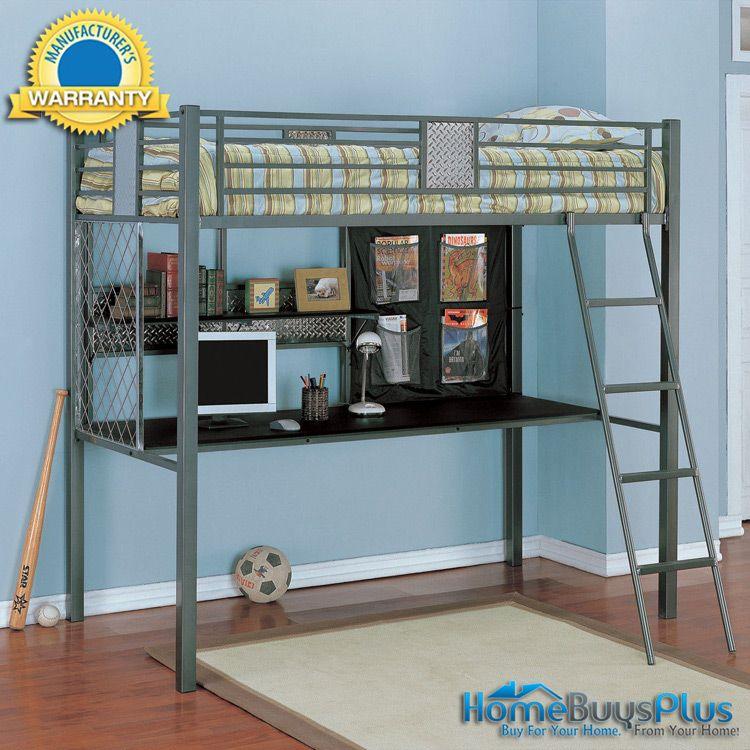 Monster Bedroomtwin Study Loft Bunk Bed 766 00 Bunk