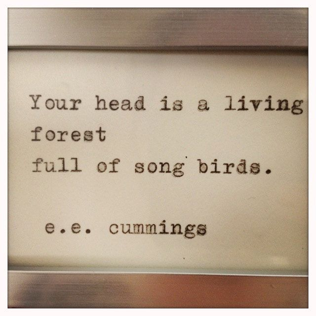 Ee Cummings Quotes Glamorous Eecummings Quote Typed On Typewriter And Framed$1200 Via