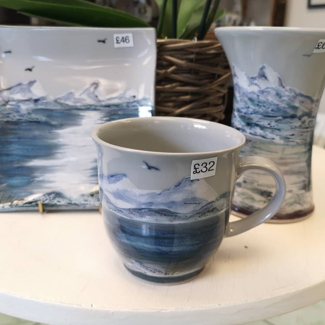 Lots of new stock coming in at the moment including this new design from Highland Stoneware which is a stunning snowy landscape and has the larger size cup - perfect for a hot cuppa on a cold day.#snow