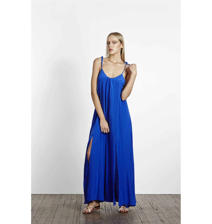 Cobalt Blue Maxi Dress From Alexis Dawn