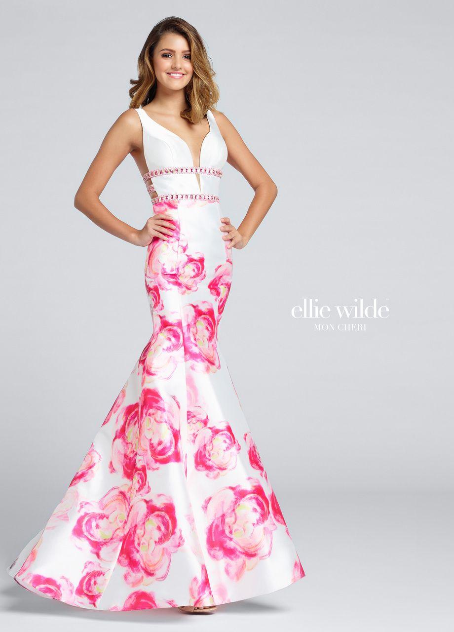 Ellie Wilde EW117029 Dress | Onlineformals.com | Fiestas largos ...
