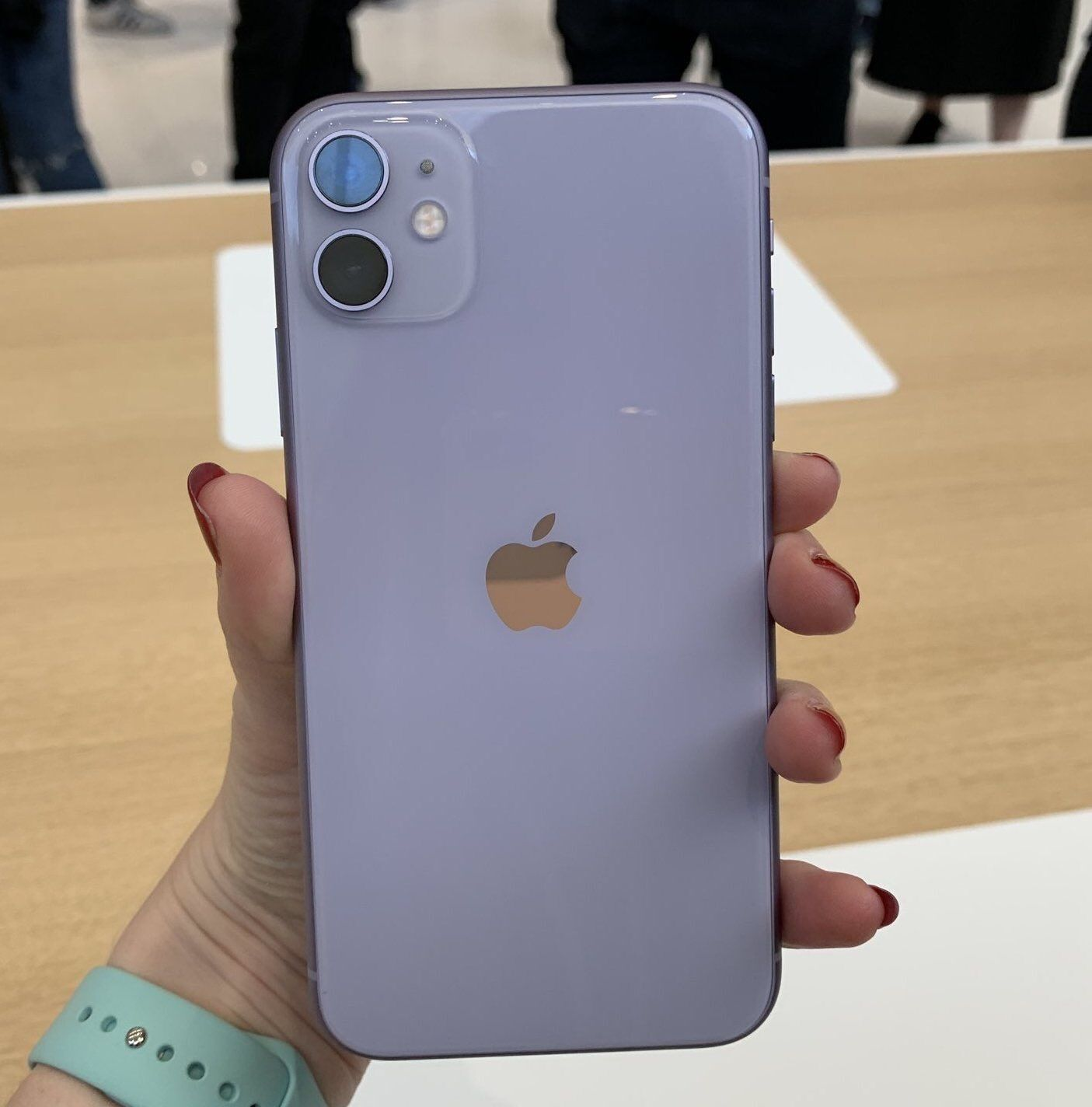 Iphone 11 Lavender Technologia Elektronika