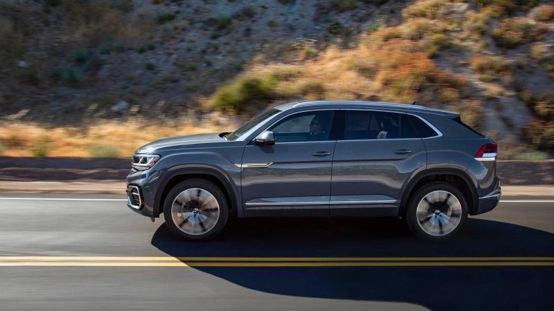 Volkswagen Atlas Cross Sport Sel 2020 Volkswagen Sport Utility