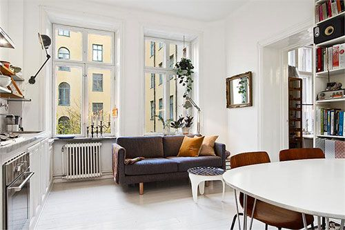 Kleine woonkamer open keuken 3.jpg 500×333 ideeën voor het huis