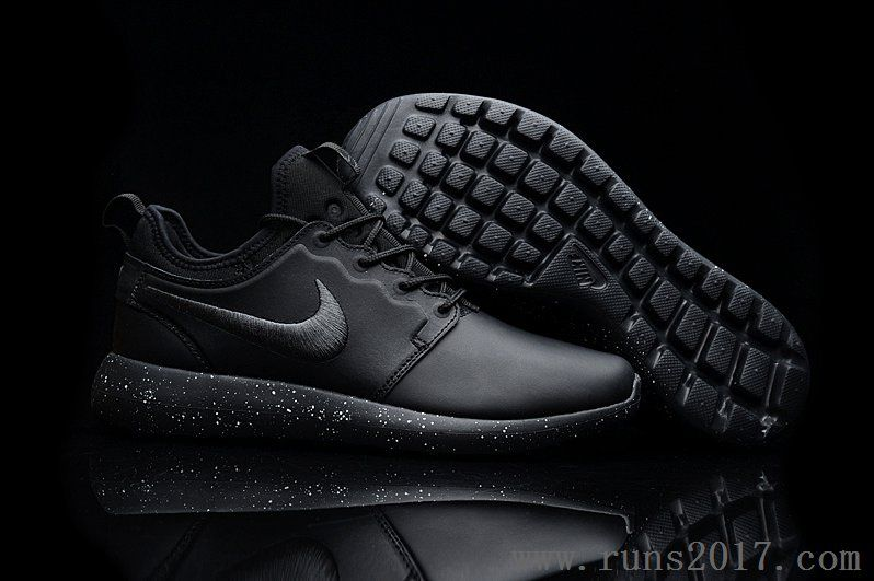 d3812d23aa6a Nike Roshe Run Two Leather Splash Ink Sole
