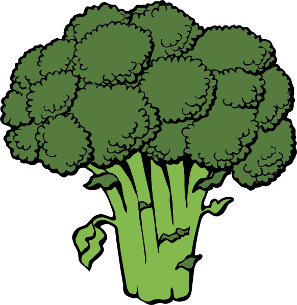 vegetable clipart free broccoli clip art vector clip art online rh pinterest co uk vegetable clipart black and white vegetables clipart k12