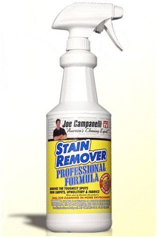 Joe Campanelli 32oz Professional Stain Remover By Joe Campanelli 17 00 This Is By Far The Best Stain Remover We Carry We Are So Sure That This Product Will