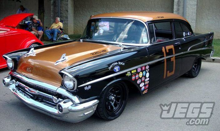 sweet looking 57 chevy