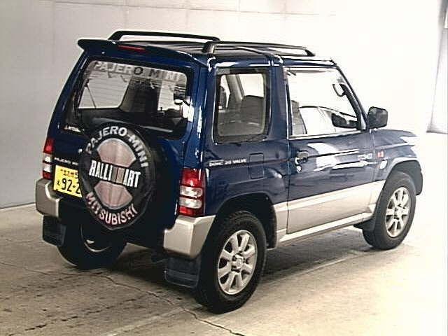 Pajero Mini 660cc Carro 4x4 Usado Buy Carro Kei Carro Usado