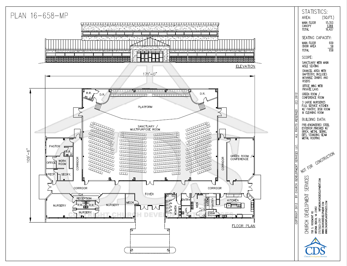 Informational church building resource church building for Floor plan church