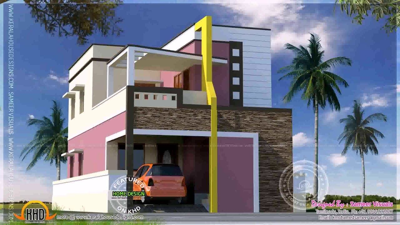 Exterior Wall Designs Indian Houses Trendecors