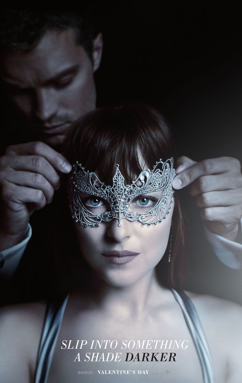 This Valentine S Day Slip Into Something A Shade Darker Fifty Shades Darker In Theaters Valentine S Day 2017 Fifty Shades Cincuenta Sombras Más Oscu