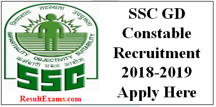 Ssc Gd Constable Result Pdf