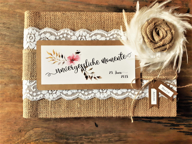 Gastebuch Hochzeit Album Fotoalbum Individualisiert Hochzeitsgastebuch Kraftpapier Gastealbum G Gastebuch Hochzeit Vintage Gastebuch Hochzeit Geschenk Hochzeit