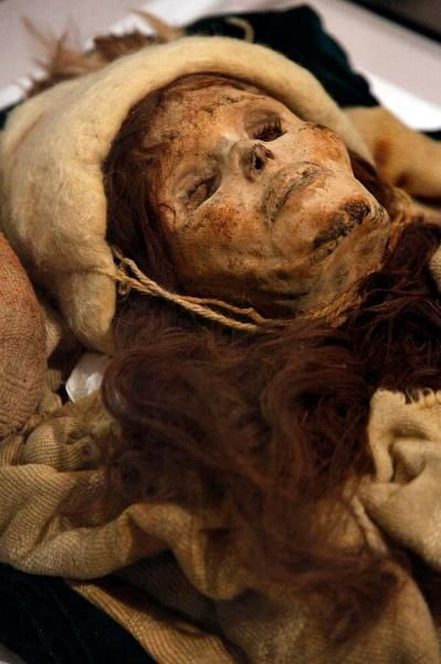 Резултат с изображение за chinese mummies red hair