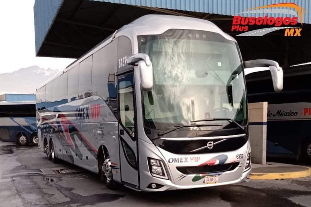 Volvo 9800 omex vip internacional México en 2020 Autobus