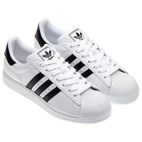 Adidas Superstar. Better known as shelltops. Run DMC said it best with