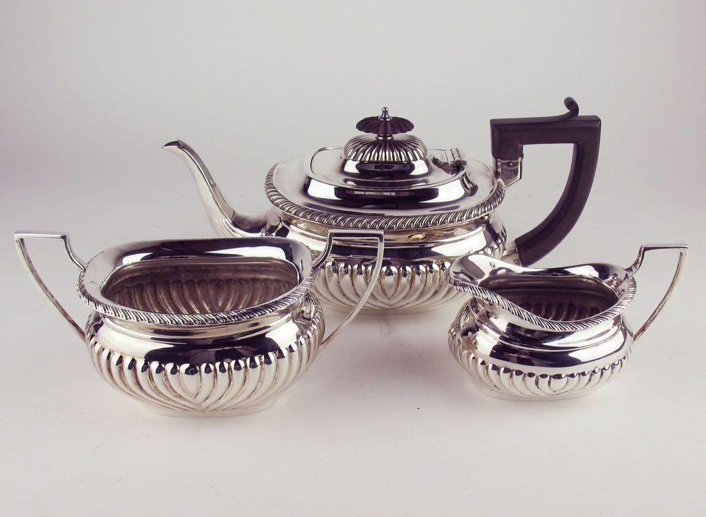 Silver Set Tea Epns Plated