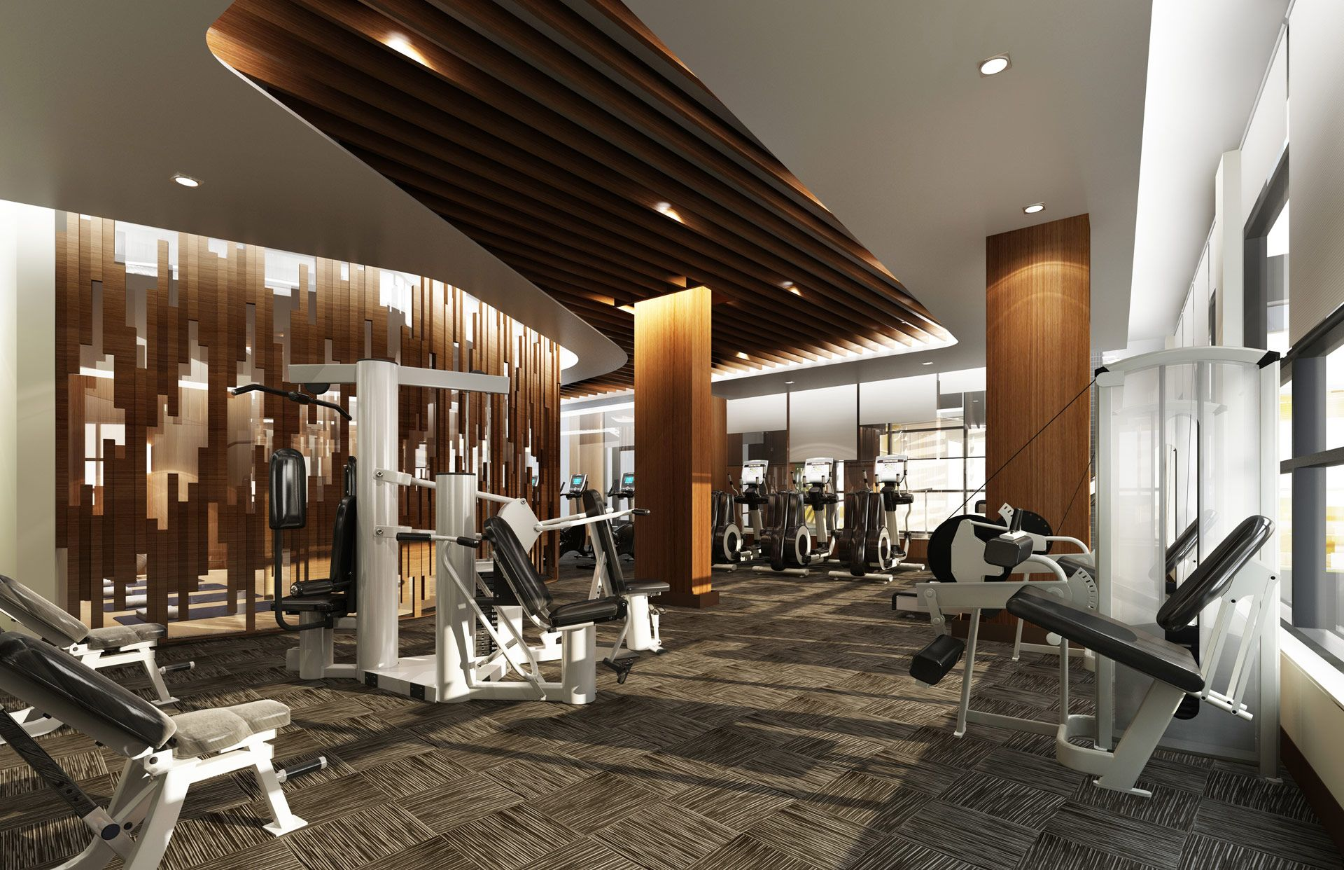 fitness rendering google search movement environments fitnessroom design. Black Bedroom Furniture Sets. Home Design Ideas