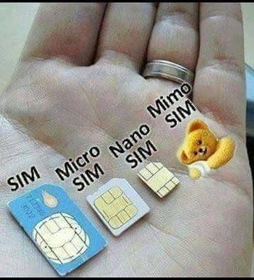 Evolución de la tarjeta SIM