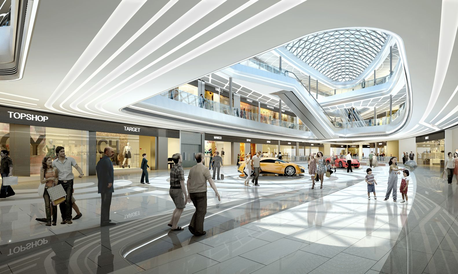 Gallery Of Shaoxing Ctc Mall Interior Design Atah 14 With