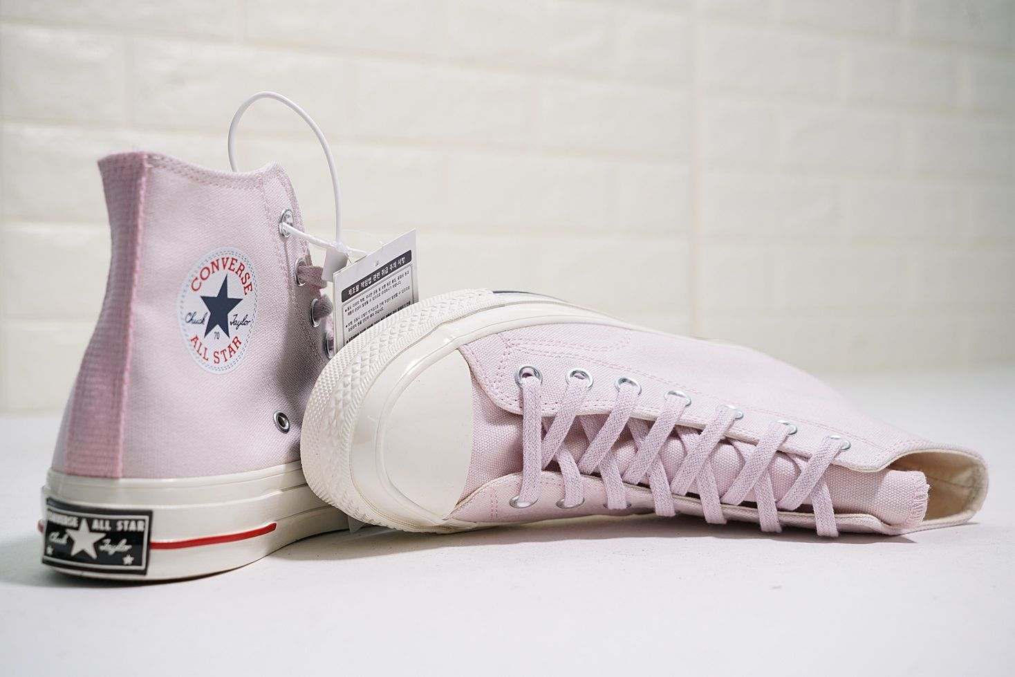 6f2029af1779 CONVERSE CHUCK TAYLOR 70S HERITAGE COURT BARELY ROSE 160492C ...