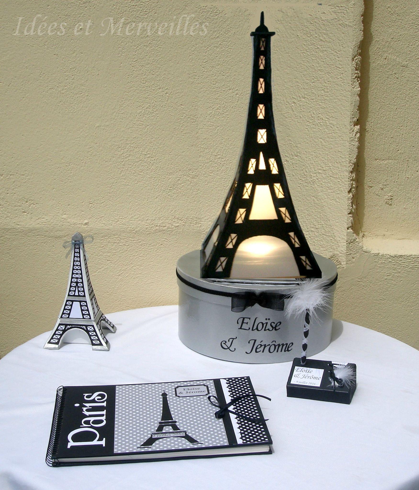 deco theme paris - idees et merveilles | Mariage thème PARIS ...