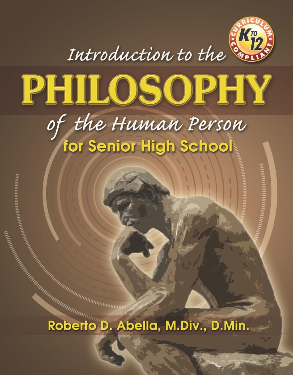 Introduction To The Philosophy Of The Human Person For Senior High School Ebook High School Seniors Philosophy Introduction