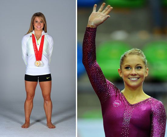 Love Shawn Johnson! Check out her blog. & I want her legs!!!