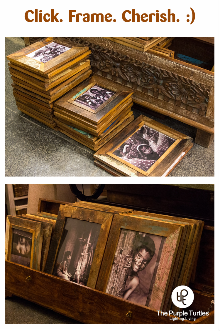 Some lovely photo-frames from our latest collection.  Click. Frame, Cherish! :)