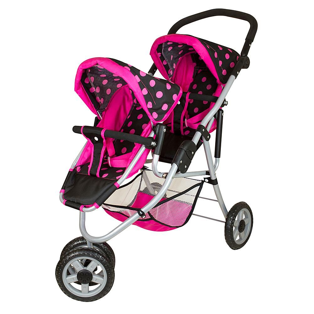 Twin Stroller Dream Lissi Twin 3 Wheel Double Push Jogger 9703629 Hsn In