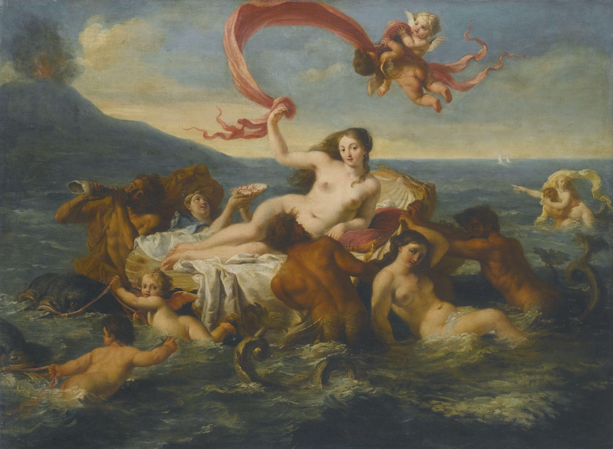 aphrodite goddess painting - HD2000×1465