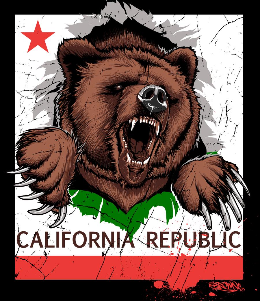Image result for california republic bear wallpaper